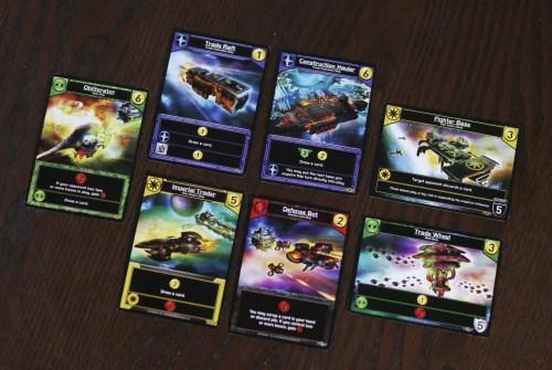 Bases. Battleships. Battlestar Galactica.