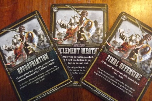 High Command Winds of War Cards
