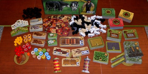 Fields of Arle - Components