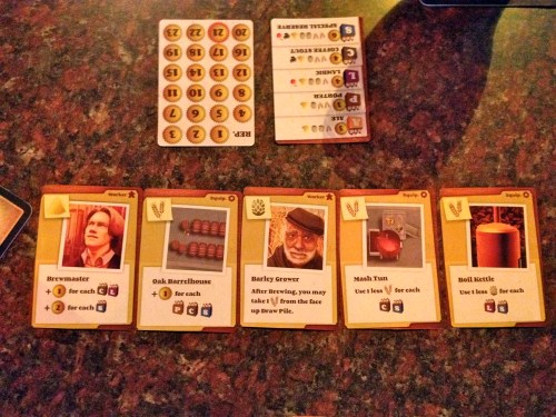 Brew Crafters Card Set Up