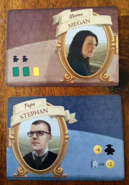 Tuscany Mama & Papa cards