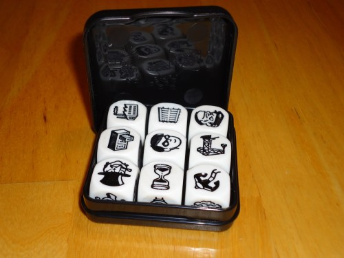 Batman Story Cubes - Inside Case