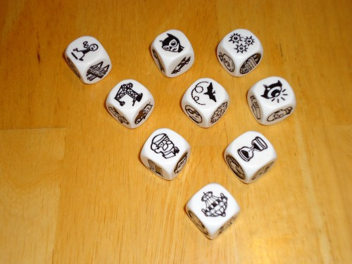 Story Cubes Batman Dice 2