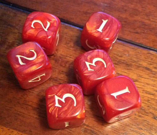 Dragonwood Dice
