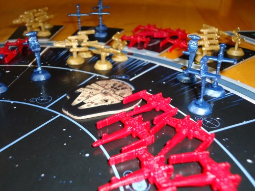 Star Wars Risk Rebel Ships