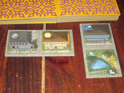 The duplex tiles. These introduce the coolest novelty to the game. These are such a fascinating idea. They break up the regular flow of the game and really are game-changing.