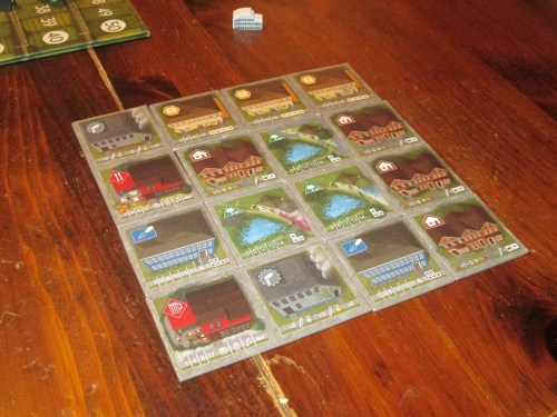 My final city. It's satisfying to survey your work at the end of the game.