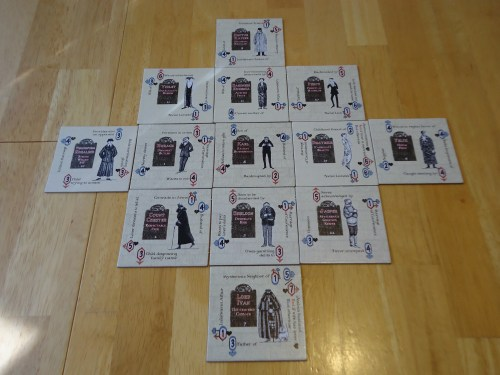 Mystery! Motive for Murder: Suspect Tiles