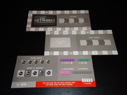 The Networks - Score Track Disassembled