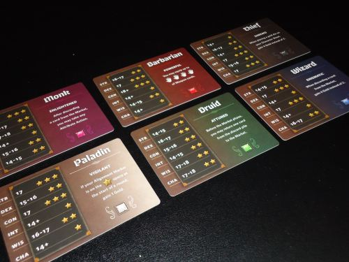 Roll Player - Class Cards
