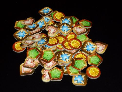Gingerbread House Tokens