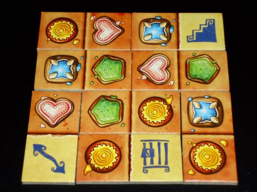 Gingerbread House Tiles
