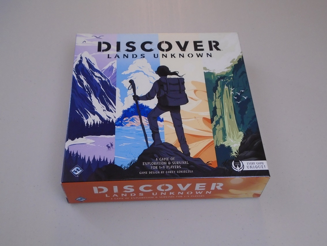 Review: Discover: Lands Unknown image