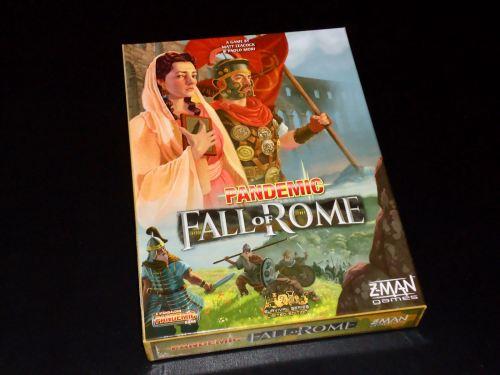 Pandemic Rome: Box