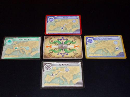Pandemic Rome: Barbarian Cards