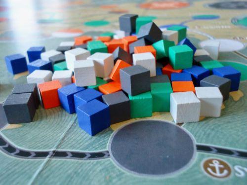 Pandemic Rome: Cubes