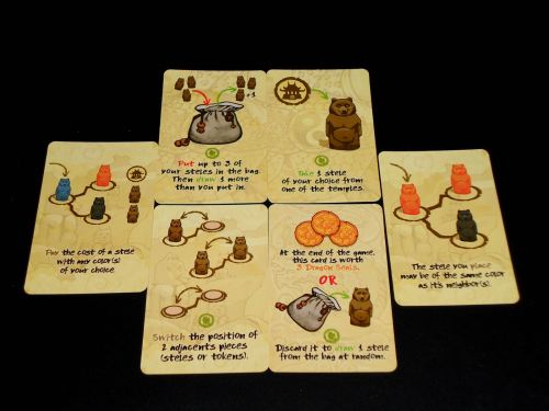 Way of the Bear - Cards