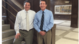 Dr. Lawrence Butler, Principal and Dr. John Sutlive, Assistant Principal.