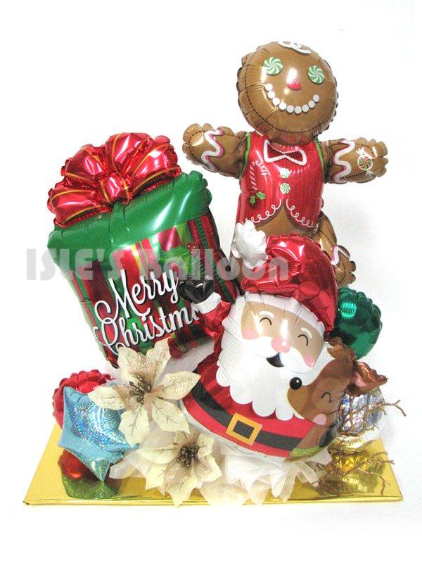 クリスマスバルーンアレンジメント