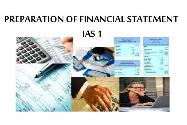 IAS 1 – Uluslarası Muhasebe Standardı 1