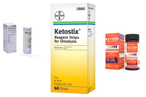 Testing for urine ketones