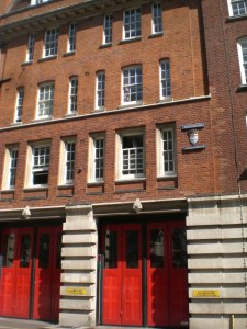 Clerkenwell Fire Station faces closure under the Mayor's cuts. Image: R Sones