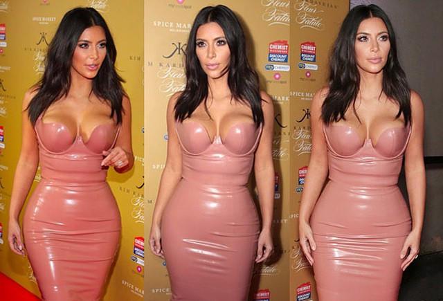 Holloway Road designer claims Kim's latex dress