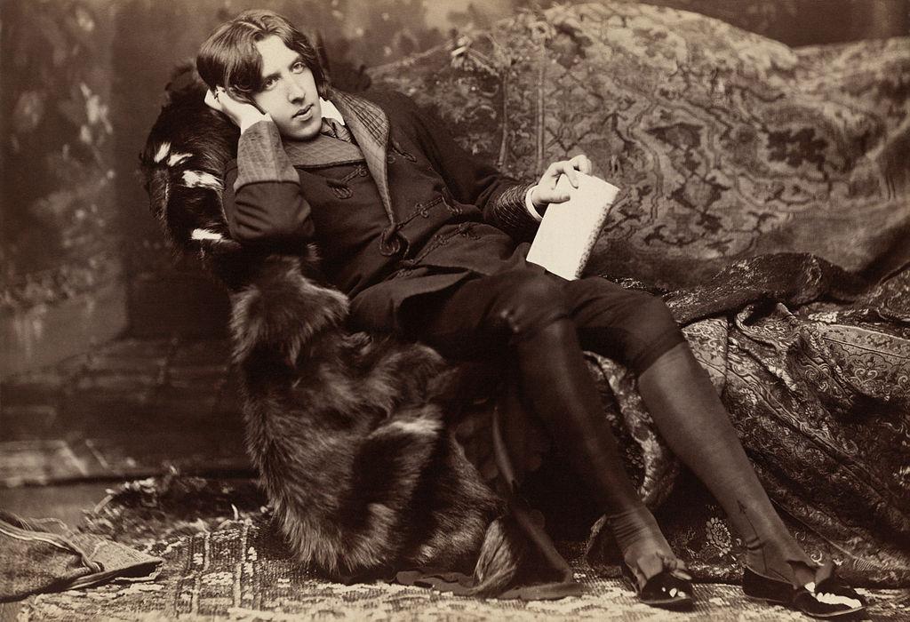 Oscar Wilde, poet and short-term Islington resident