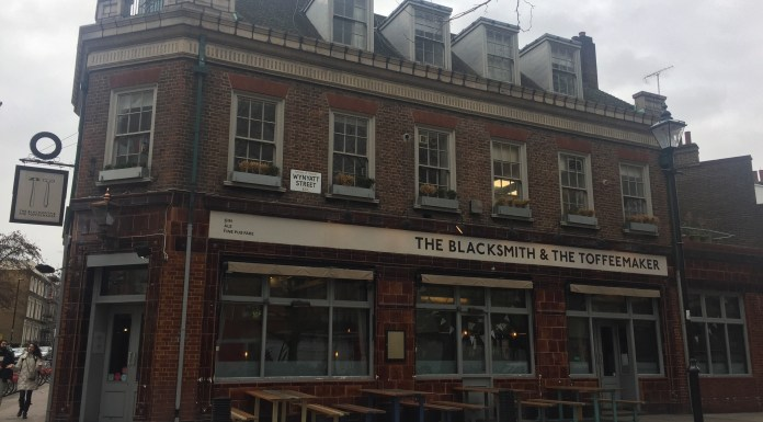 The Blacksmith and the Toffeemaker, St. John Street, has changed to a vegan food, and it's working.