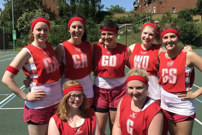 Netball leagues are popping up all over London.