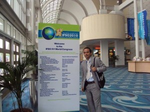 Dr. Ismael Cabrera, MD at the IFSO 2010 Conference.