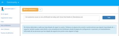 unfollow statusbrew herramientas para twitter ismael ruiz gonzalez