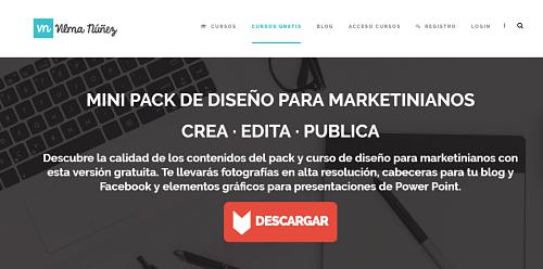 pack curso online vilma nuñez diseño