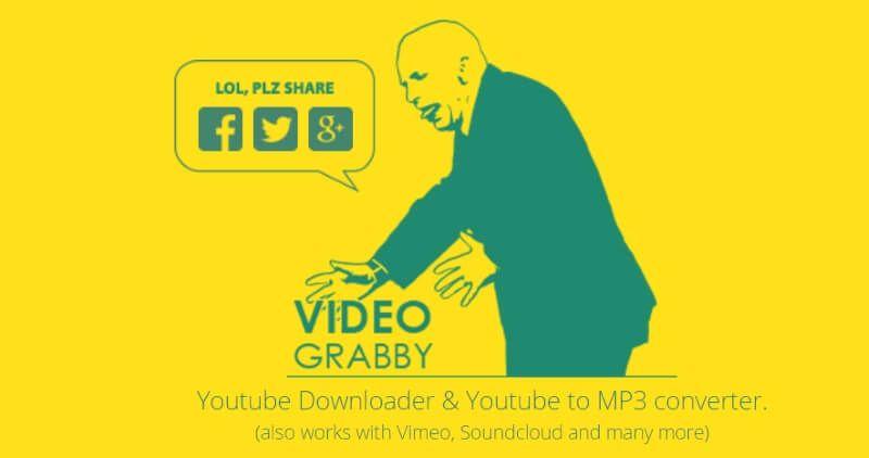 VideoGrabby descarga musica gratis
