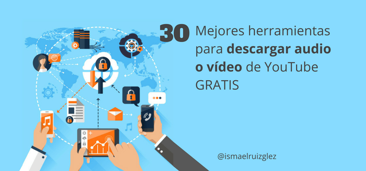 30 Páginas para descargar música y vídeo gratis en HD de YouTube