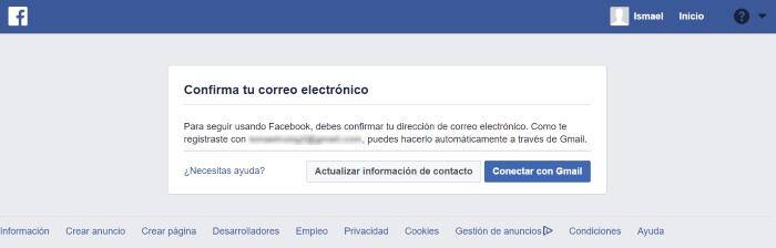 facebook entrar a mi cuenta en español
