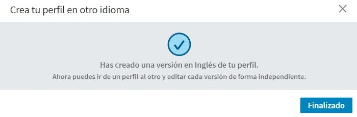 cambiar el idioma de la cuenta de linkedin en ingles