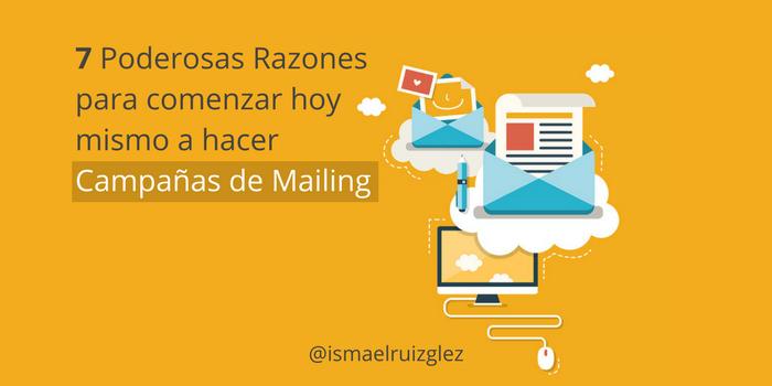 campañas de mailing email marketing para empresas y negocios