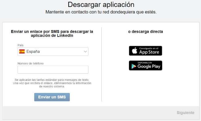 descargar app de linkedin
