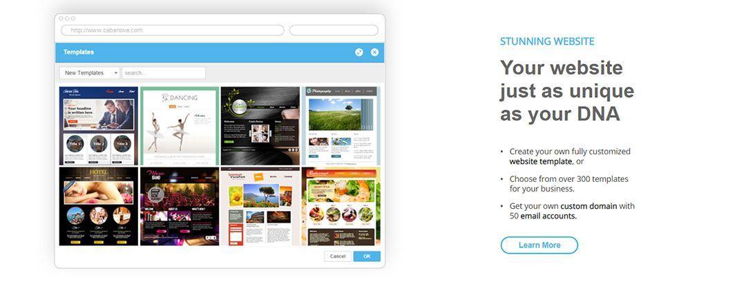 CABANOVA, plataforma para crear un blog gratis