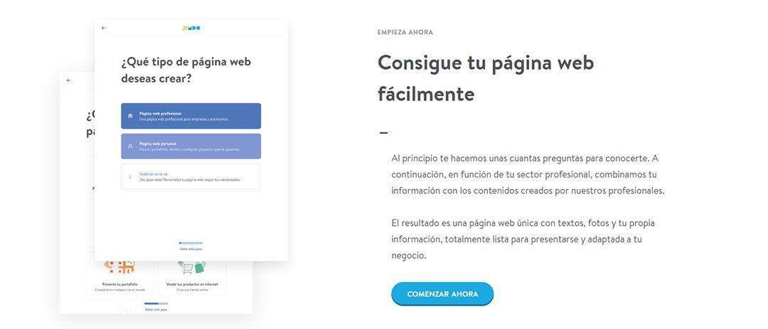 Jimdo, una plataforma para crear tu blog gratis paso a paso