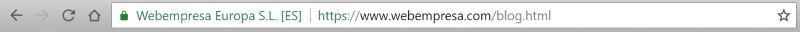 Certificado SSL de Webempresa