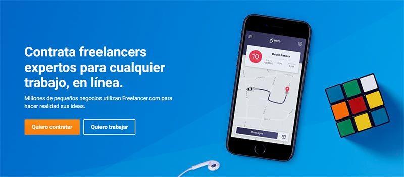 Freelancer, la mejor plataforma Freelance en España