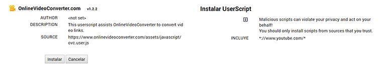 Añade el widget al navegador