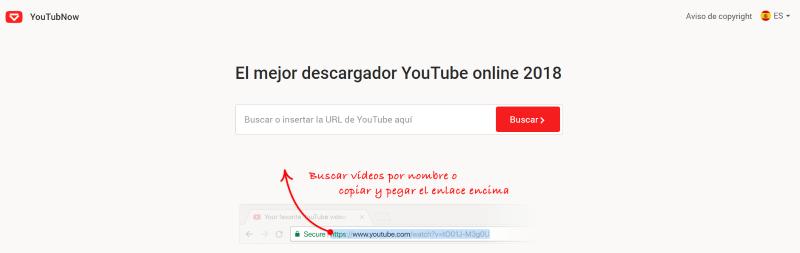YouTubNow, El mejor descargador YouTube online 2018