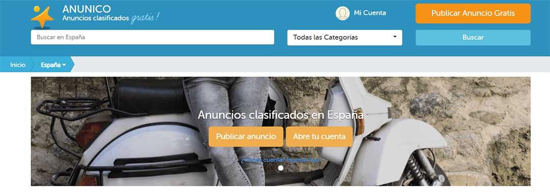 ANUNICO, una plataforma donde publicar anuncios gratis fiable