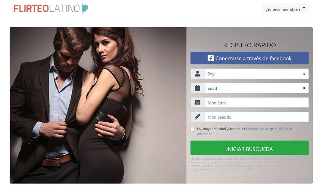 Flirteo Latino, la nueva página para ligar