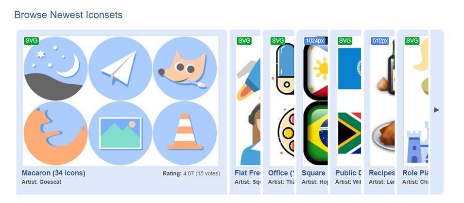 Iconarchive, iconos gratis para Windows 10