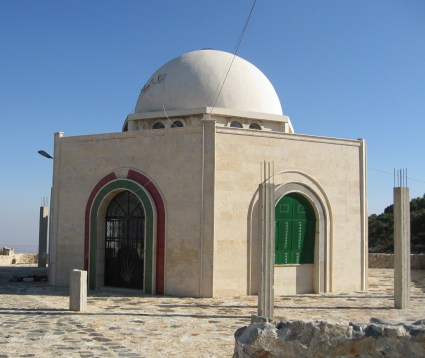 Jabal Mashadin Masyaf, Syria. Jabal Mashad is believed to hold the tombs of Imam Muhammad ibn Isma'il and the three Isma'ili Imams who succeeded him : Imam 'Abdullah ibn Muhammad al-Radi [Imam Wafi Ahmad], Imam Ahmad ibn 'Abdullah al-Wafi [Imam Taqi Muhammad], and Imam al-Husayn ibn Ahmad al-Taqi [Imam Radi al-Din 'Abdullah].