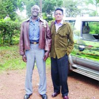 Expelled by Amin, a Ugandan Asian now comes face to face with Jaffar, Amin's son